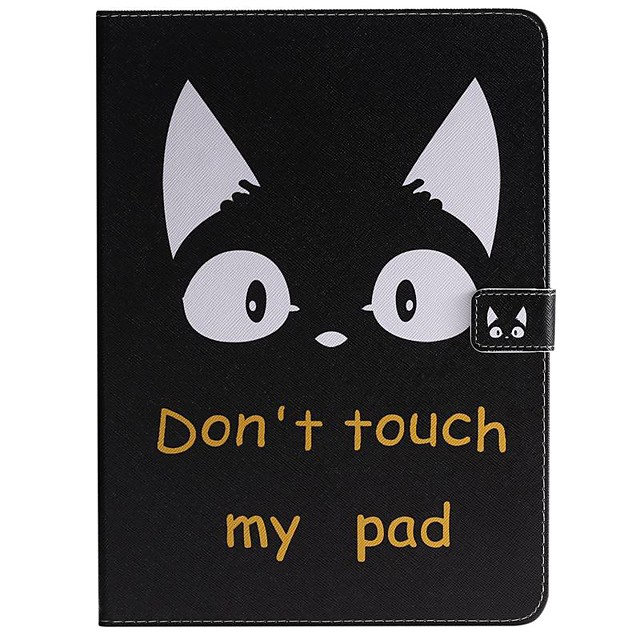 Case For Apple iPad New Air 10.5 / iPad Mini 3/2/1/4/5 Wallet / Card Holder / with Stand Full Body Cases Word / Phrase PU Leather For iPad 10.2 2019/Pro 11 2020/Pro 9.7/2017/2018/iPad 2/3/4