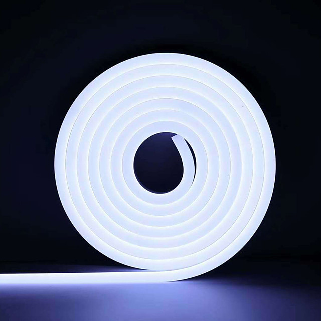 3m Neon Strip Lights 360 LEDs 2835 SMD 6mm 1pc Warm White White Red Halloween Christmas Waterproof Cuttable Decorative 12 V