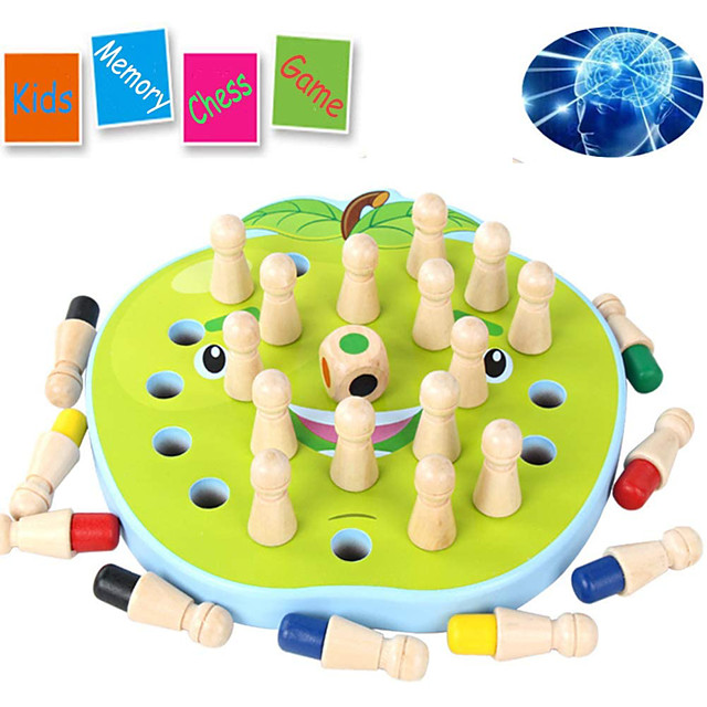 Board Game Educational Toy Wooden family game Parent-Child Interaction Family Interaction Home Entertainment Kids Children's Boys and Girls Toys Gifts