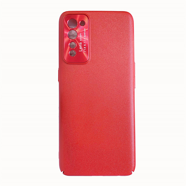 Solid Colored Leather Phone Case for OPPO RENO3 A11X A52 A92S