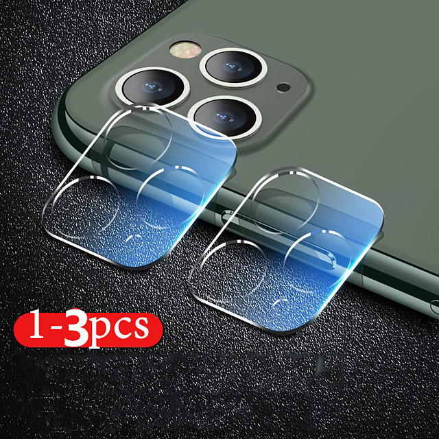 6D Camera Protection Glass For iPhone 11 Pro XS Max XR X SE Full Cover Lens Screen Protector For 7 8 Plus Tempered Glass Film