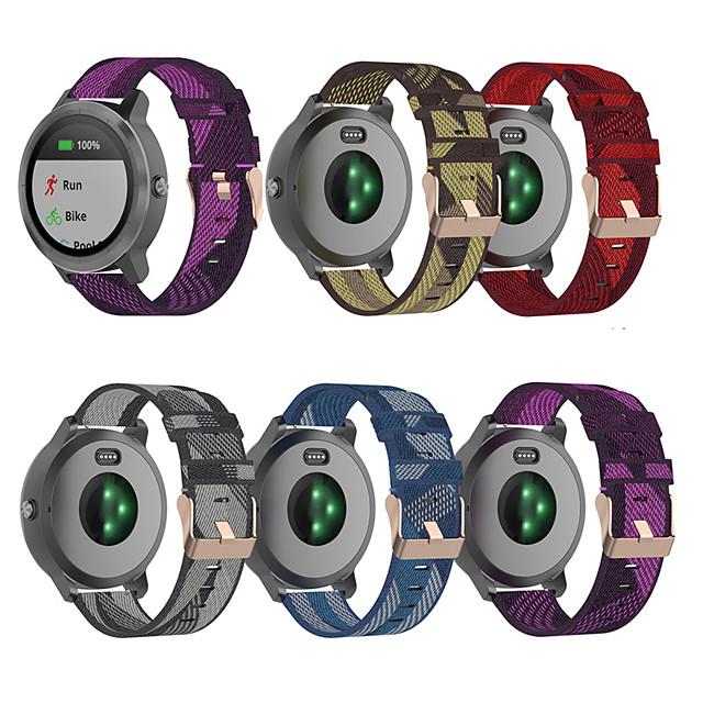 Watch Band for Vivoactive 3 / Forerunner 245M / Forerunner 645 Garmin Sport Band / Classic Buckle / Modern Buckle Nylon Wrist Strap