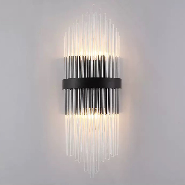 QIHengZhaoMing Crystal Wall Lamps & Sconces Bedroom / Shops / Cafes Metal Wall Light 110-120V / 220-240V 5 W