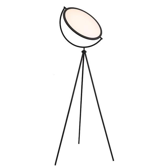Podna lampa Prilagodljiv / LED / Ukrasno Jednostavan / Nordijski stil DC Powered Za Stambeni prostor / Spavaća soba Metal 110-120V / 220-240V Obala / Crn