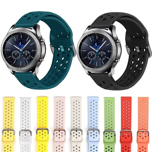 20mm 22mm Silicone band for Huawei/Withings/Samsung Galaxy/gear s3/ Amazfit Bip Smart watch replacement Strap wristbands