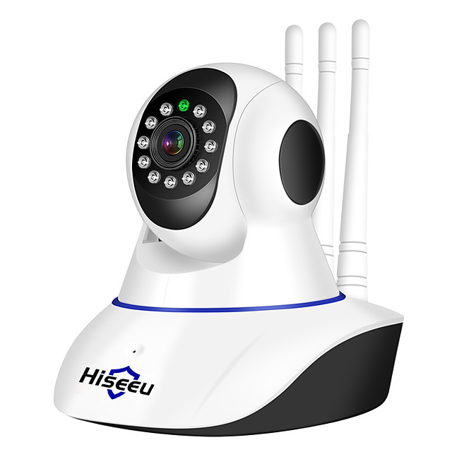 Hiseeu® 1080P IP Camera Wireless Home Security Surveillance Camera Wifi Night Vision CCTV Camera Baby Monitor Two-way Audio Built-in Microphone Speaker Motion Detection & Alarm Alert