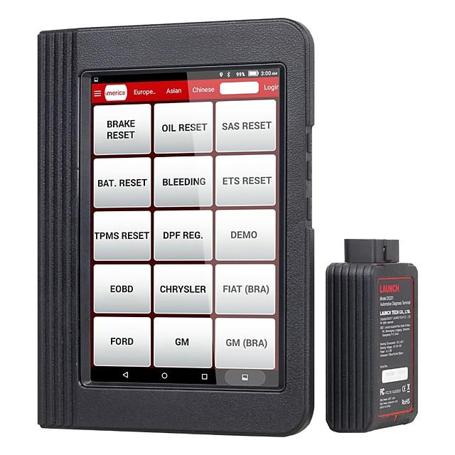 lansera x431 v bluetooth wifi bil fullständigt systemdiagnostiskt verktyg ecu kodning dpf tpms 16 återställ v pro mini obd2 kodläserskanner