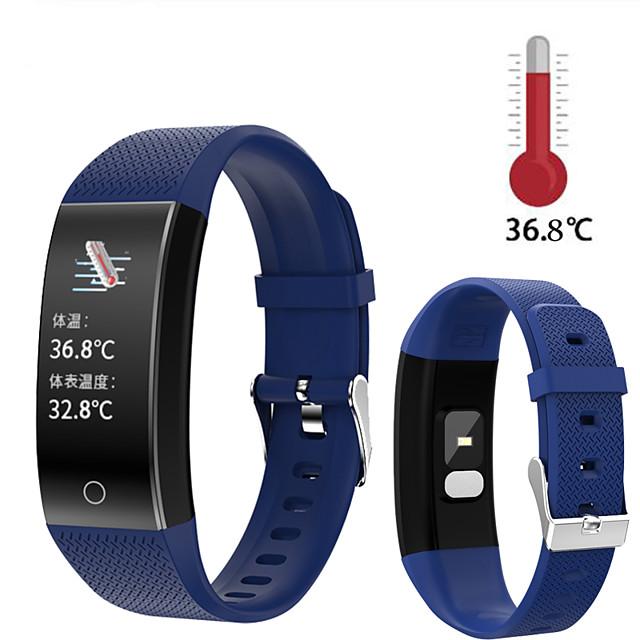 QW18T Smart Band Body Temperature Watch Fitness Tracker Bracelet Waterproof Sport Pedometer Fitness Blood Pressure tracker