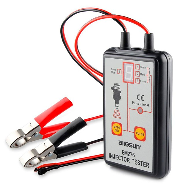 EM276 Professional Car Injector Tester Fuel Injector 4 Pluse Modes Tester Car Auto Diagnostic Repair Tools Fuel Pressure Tester