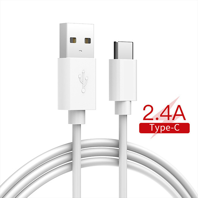 Type-C to Lightning Cable 2.5 A Normal / High Speed / Quick Charge ABS+PC USB Cable Adapter For Macbook / iPad / Samsung