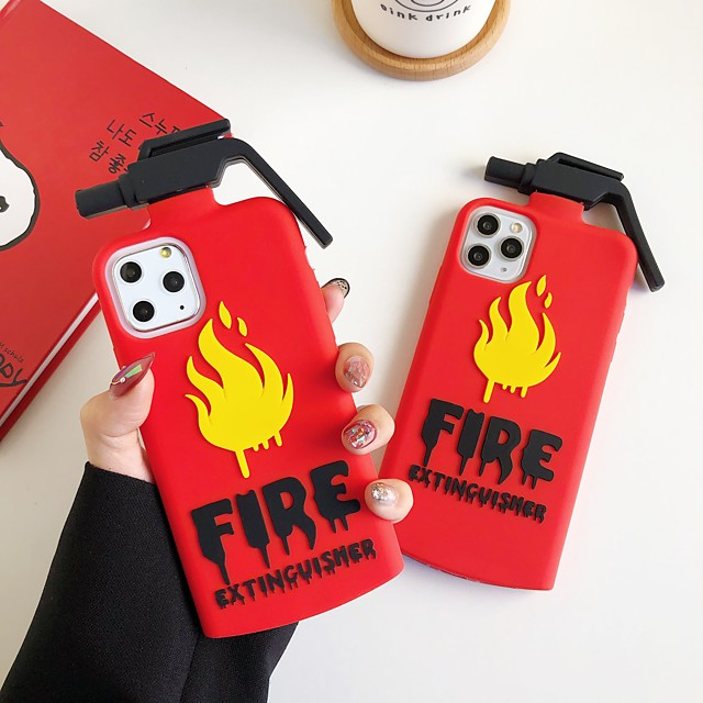 Case For Apple iPhone 11 / iPhone 11 Pro / iPhone 11 Pro Max Shockproof Back Cover Cartoon Silica Gel