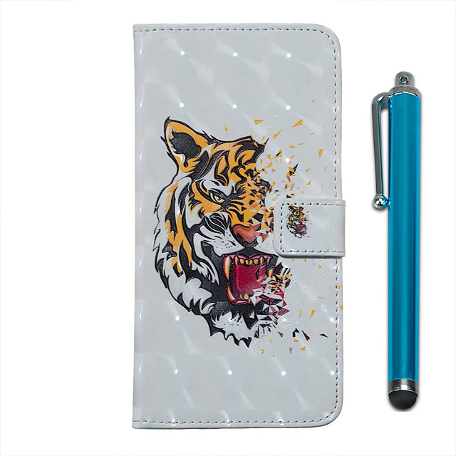 Case For Samsung Galaxy S20 S20 Plus S20 Ultra Wallet Card Holder with Stand Full Body Cases Tiger PU Leather TPU for Galaxy A51 A71 A01 A50(2019) A30S(2019) A70(2019) A20(2019)