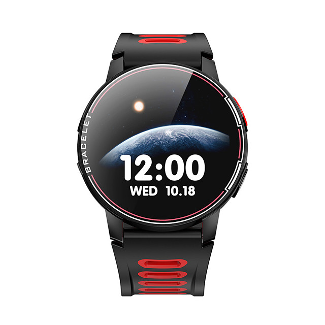 L6 Smartwatch for Android/ IOS/ Samsung Phones, Sports Tracker Support Water-resistant