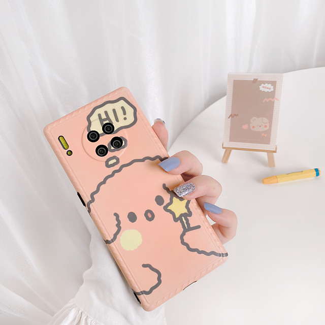 Case For Huawei Huawei P30 / Huawei P30 Pro / Huawei Mate 20 pro Shockproof Back Cover Cartoon TPU