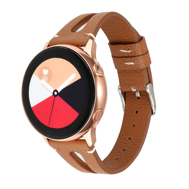 Watch Band for Amazfit Pace Amazfit Stratos Amazfit GTR 47mm Amazfit Sport Band Classic Buckle Genuine Leather Wrist Strap
