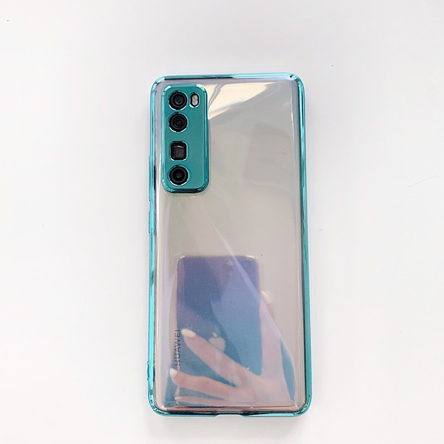 Case For Huawei Huawei P30 / Huawei P30 Pro / Huawei Mate 20 pro Shockproof Back Cover Solid Colored TPU