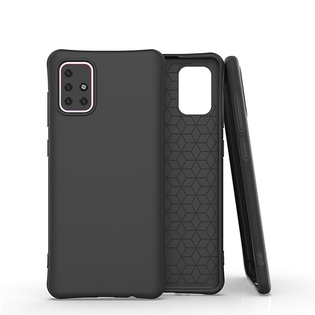 For Samsung Galaxy A01 / A21 / A41 / A51 / A71 / A81 / A91 Case Liquid Silicone Rubber Skin Feel Soft Back Shockproof Covers For Galaxy   S20 / S20 Plus / S20 Ultra / S10Lite / S10E/ S10 5G/ S10 Plus