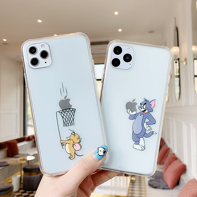 Case For Apple iPhone 11 / iPhone 11 Pro / iPhone 11 Pro Max Shockproof Back Cover Cartoon TPU
