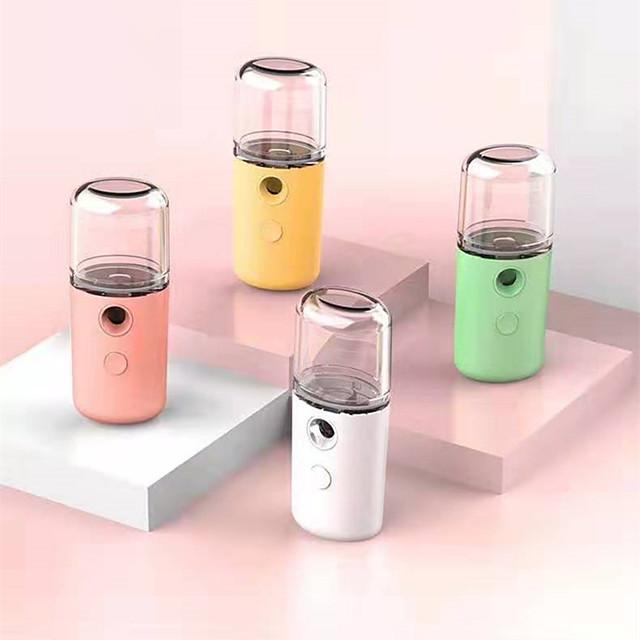 Mist Sprayer Mini 30ml Nano Portable Face Spray Facial Body Nebulizer Steamer Moisturizing Skin Care Humidifier Instruments