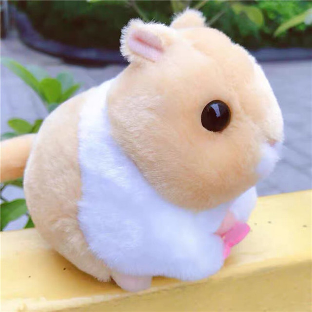 Stuffed Animal Educational Toy Plush Doll Plush Toys Plush Dolls Stuffed Animal Plush Toy Cartoon Hamster Plush Imaginative Play, Stocking, Great Birthday Gifts Party Favor Supplies Boys and Girls