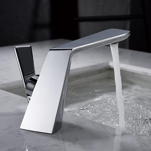 Chrome Bathroom Basin Faucet Creative Wash Basin Bathroom Single Handle Hot and Cold Water