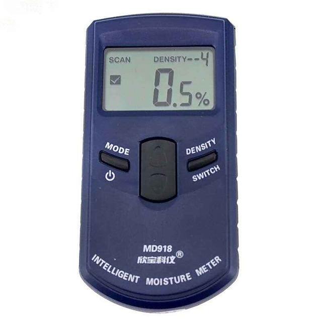 MD918 Digital wood moisture meter wood Humidity Meter Damp Detector Tester Paper moisture meter wall moisture analyzer 480%