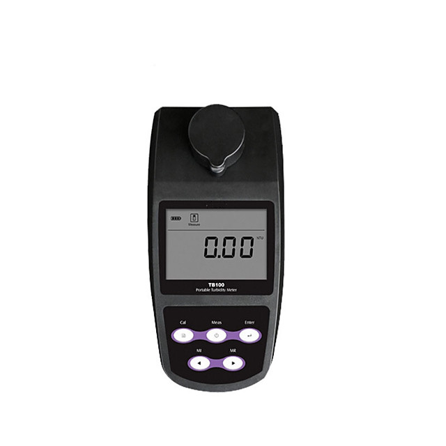 TB100 Portable Turbidimeter turbidity meter Tester analyzer USB DATA 25 points cal selectable