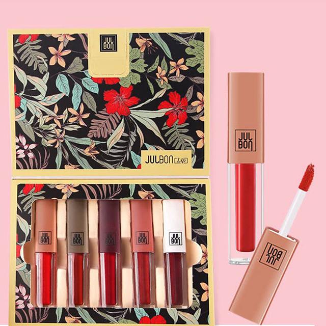 Lip Gloss Wet Long Lasting Waterproof Beauty Daily Wear Office & Career / Matte