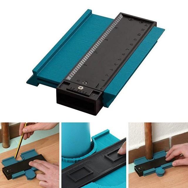 5inch  Contour Profile Gauge Tiling Laminate Tiles Edge Shaping Wood Measure Ruler ABS Contour Gauge Duplicator