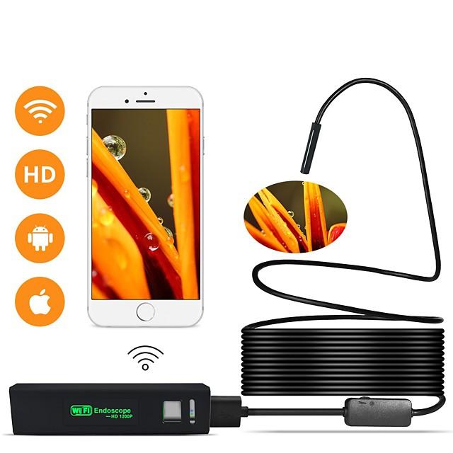 WIFI Endoscope Camera Mini Waterproof  Inspection Camera 8mm 1M 2M 5M USB Endoscope Borescope IOS Endoscope For Iphone