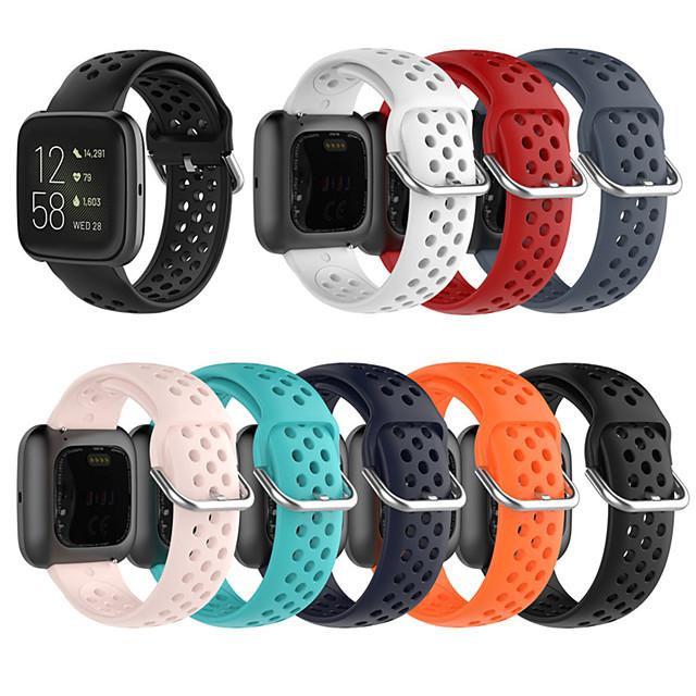 For Fitbit Blaze Fitbit Versa Fitbit Versa Lite Breathable Silicone Sport Strap