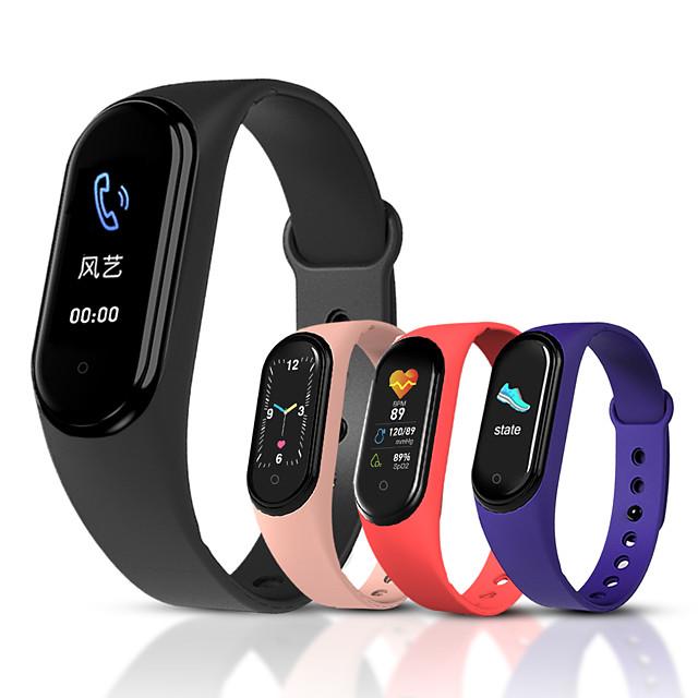 M5 Men Women Smartwatch iOS Bluetooth Waterproof Touch Screen Heart Rate Monitor Blood Pressure Measurement Sports ECG+PPG Pedometer Sleep Tracker Sedentary Reminder Chronograph