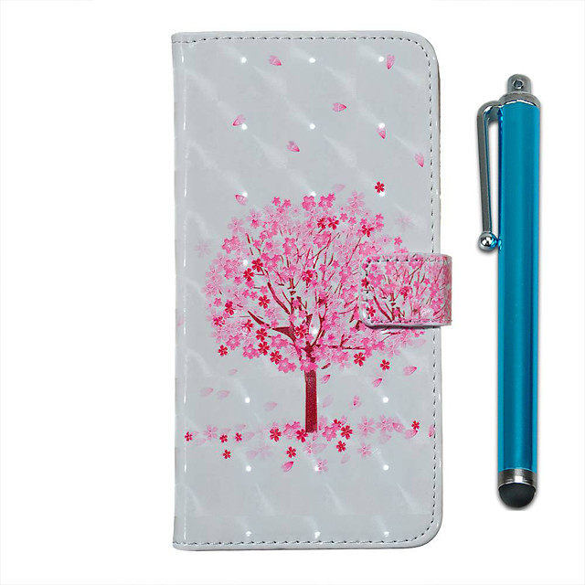 Case For Samsung Galaxy S20 S20 Plus S20 Ultra Wallet Card Holder with Stand Full Body Cases Pink Tree PU Leather TPU for Galaxy A51 A71 A01 A50(2019) A30S(2019) A70(2019) A20(2019)