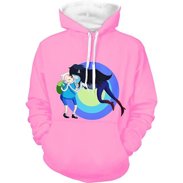 Inspired by Adventure Time Cosplay Costume Hoodie Polyster Print Printing Hoodie For Men's / Women's