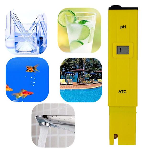 Pocket Pen Water test Digital PH Meter Tester PH-009 IA 0.0-14.0pH for Aquarium Pool Water Laboratory