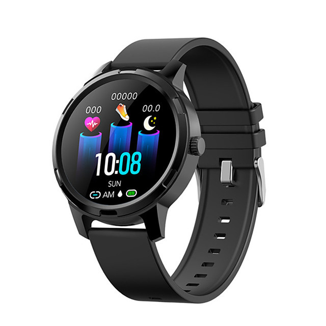 C20X Men Women Smartwatch Android iOS Bluetooth Waterproof Touch Screen Heart Rate Monitor Blood Pressure Measurement Sports Timer Stopwatch Pedometer Call Reminder Activity Tracker