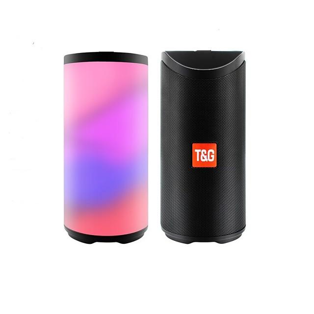 T&G TG169 Ulkokaiutin Subwoofer Johto Bluetooth TF-kortti Ulkoilu Kannettava Puhuja Käyttötarkoitus Kannettava Matkapuhelin TV