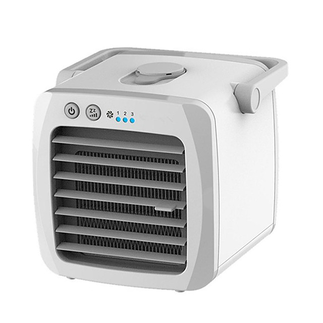Mini Portable Air Conditioner USB Personal Desktop Air Cooler Fan Cooler for Home Office Car Fan Air Conditioner Cooling