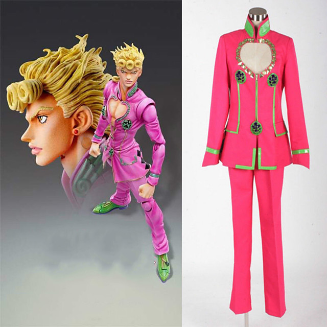 Inspired by JoJo's Bizarre Adventure Anime Cosplay Costumes Japanese Cosplay Suits Coat Pants For Men's Women's