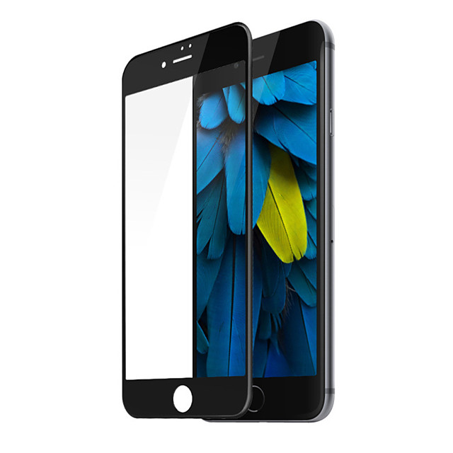 Screen Protector for Apple iPhone SE (2020) / iPhone 8 / 7 SZKINSTON  Silk 3D Full Scratchproof Anti-fingerprint High Fiber High Definition (HD) Front Tempered Glass Screen Protector Protective Film