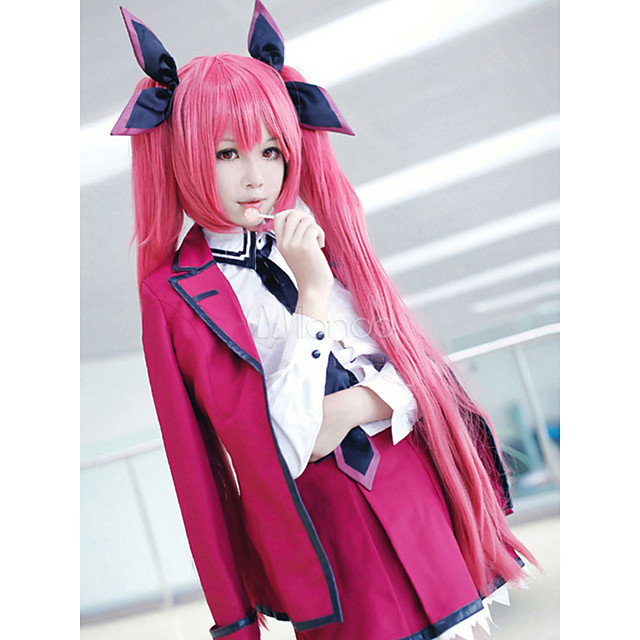Inspired by Date A Live Kotori Itsuka Anime Cosplay Costumes Japanese Outfits Coat Blouse Dress For Women's / Socks / Tie / Brooch / Hair Accessories
