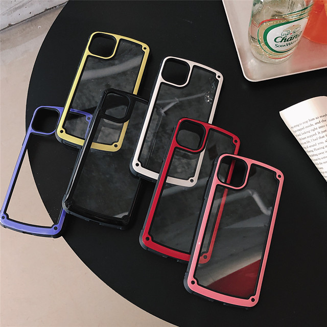 Transparent Shockproof for Apple  Case 11 Pro Max X XR XS Max 8 Plus 7 Plus SE(2020) Protection Cover