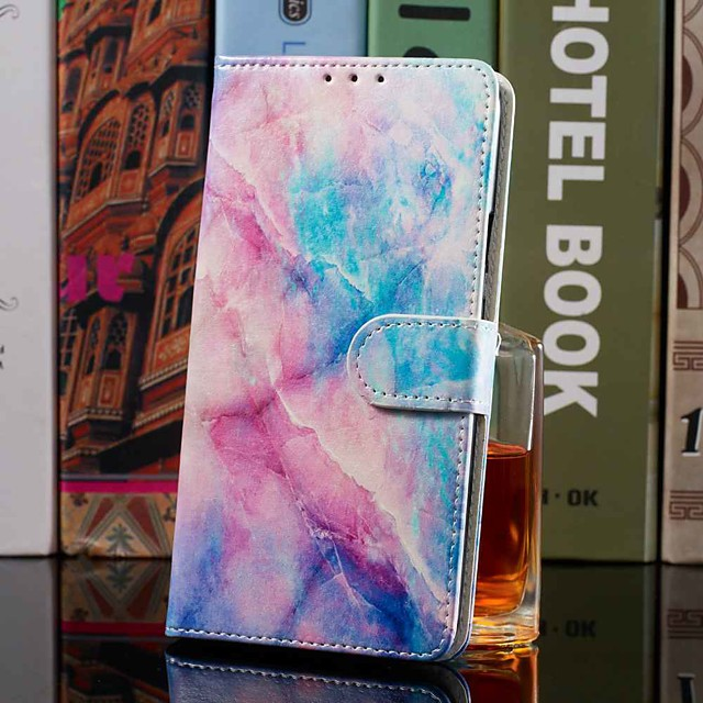 Case For Samsung Galaxy S20 S20 Plus S20 Ultra Wallet Card Holder with Stand Full Body Cases Marble PU Leather TPU for Galaxy A51 A71 A01 A50(2019) A30S(2019) A70(2019) A20(2019)