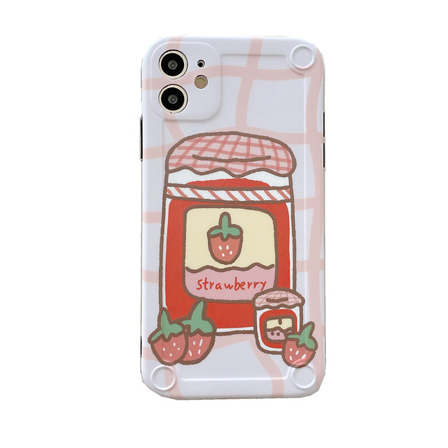 Case For Apple iPhone 11 / iPhone 11 Pro / iPhone 11 Pro Max Shockproof / Pattern Back Cover Food TPU