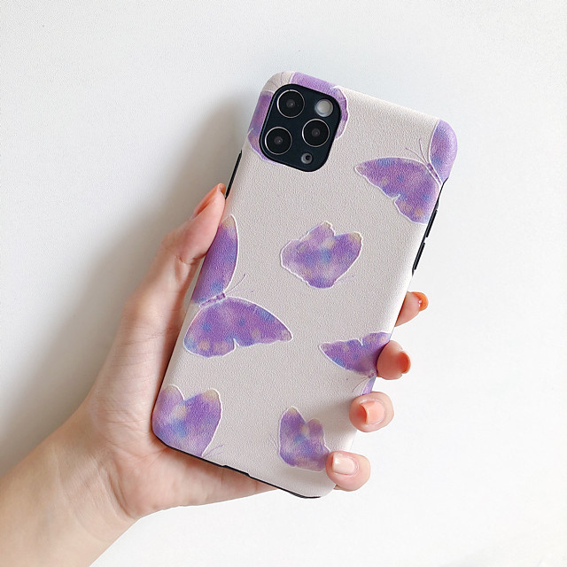 Case For Apple iPhone 11 iPhone 11 Pro iPhone 11 Pro Max Shockproof Back Cover Butterfly TPU