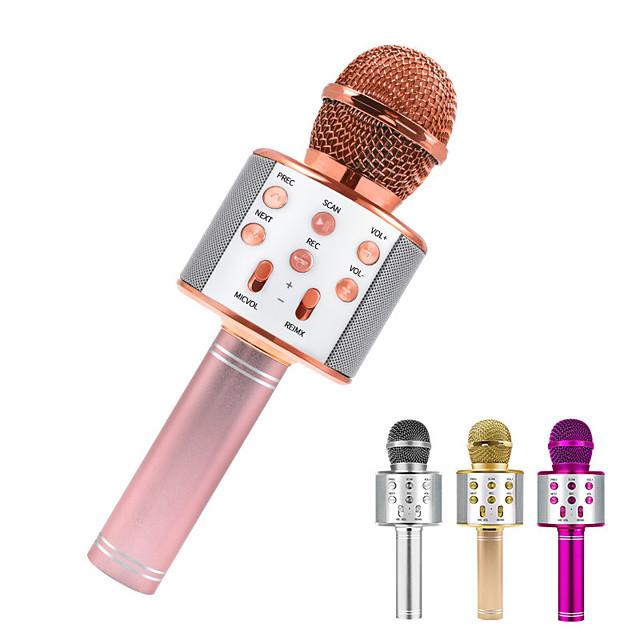 Bluetooth Karaoke Microphone Wireless Microphone Professiona Speaker Handheld