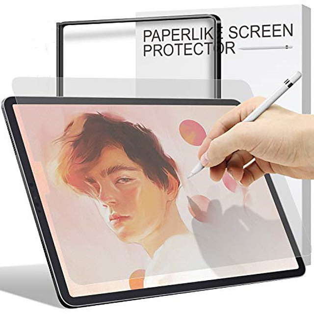 1pc Paperlike Screen Protector for iPad Pro iPad Air Screen Protector Compatiable with Apple PencilAnti Glare Painting Screen Protector for iPad iPadmini