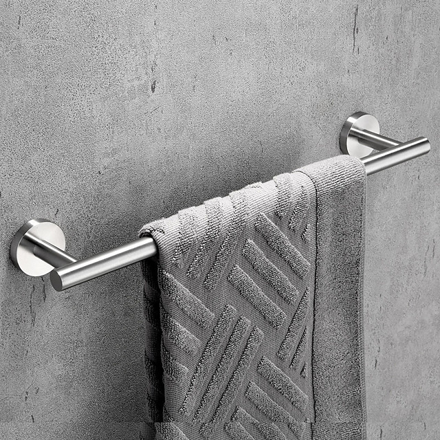 Towel Bar / Bathroom Shelf New Design / Adorable / Creative Contemporary / Modern Stainless Steel / Low-carbon Steel / Metal 1pc Wall Mounted