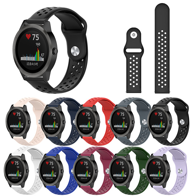 Wrist Silicone Strap for Garmin Vivoactive 3 Smart Bracelet Watch Band Wristband Sport Silicone Watchband Strap for Garmin Vivoactive 3 / Vivoactive 3 Music