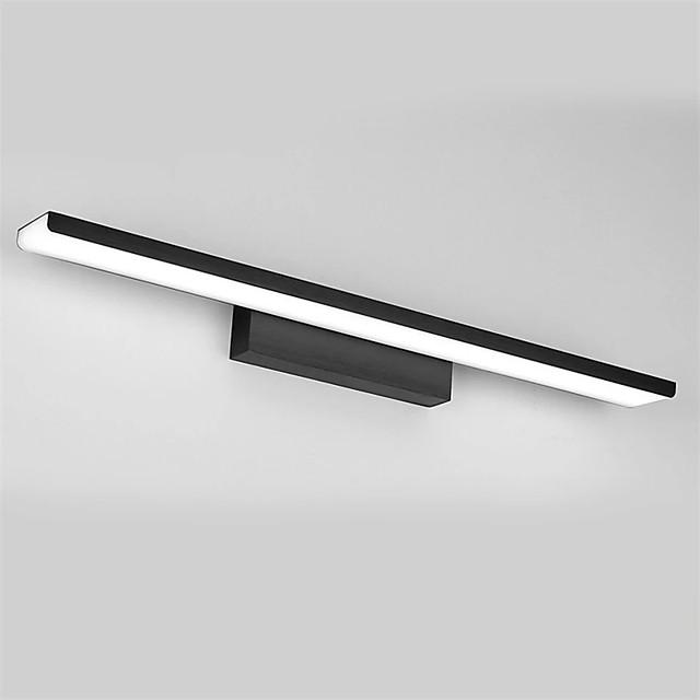 LED Aluminum Mirror Front Lamp 61cm 24W Bathroom Lighting Bedroom Bathroom Aluminum Acrylic Wall Light Downlight IP20